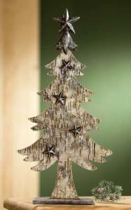 Tannenbaum Rindendekor, ca. 52cm hoch
