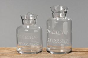 """Vorratsglas """"Delicious"""", 27 cm hoch, mit Deckel"""
