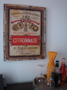 Citronade, Canvas-Leinwand auf Holzrahmen