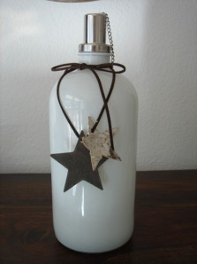 Öllampe, Ø 11 x H 30 cm