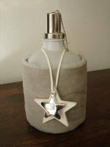"Öllampe ""in Schafdaunen"", sortiert (2 unterschiedliche Designs), je"