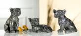 Tiger Babies, altsilber, sortiert, 3 Designs, je