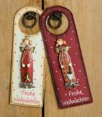 """Türhänger Engel """"Frohe Weihnachten"""""""