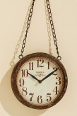"""Uhr """"Colmar"""" aus Eisen, 48cm hoch"""