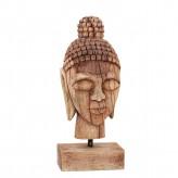 Buddhakopf, antikes Holz, 37 cm hoch!