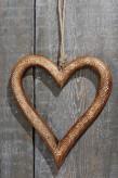 """Hänger """"Herz"""", 30cm lang, aus Mangoholz"""