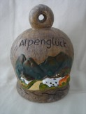 Spardose Alpenglück aus Keramik