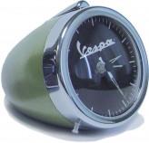 Vespa Uhr im Scheinwerfergehäuse grün